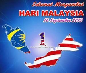 SELAMAT MENYAMBUT HARI MALAYSIA 2012