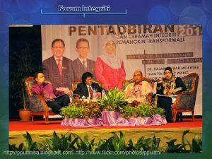 Photo:Sekitar Majlis Perutusan Pentadbiran 2014 dan Ceramah Integriti