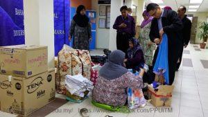 PROGRAM CSR : Persediaan Bantuan Bencana Banjir