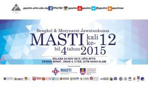 Mesyuarat Jawatankuasa Majlis Persatuan Pentadbir Universiti Awam Malasyia (MASTI)
