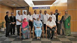 Kunjungan hormat Majlis Persatuan Pentadbir Universiti Awam (MASTI) ke Pejabat Pendaftar UiTM