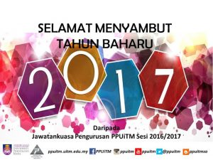Selamat Tahun Baharu 2017