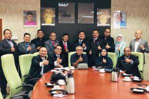 Sesi Ramah Mesra JK Eksekutif MASTI 2017-2019 bersama Pengerusi Majlis Pendaftar Universiti Awam Malaysia.